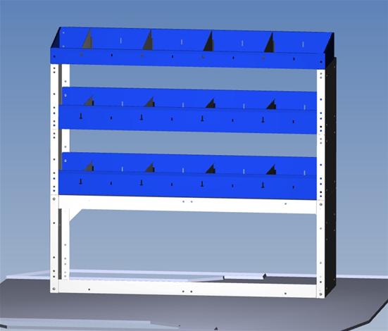Kit standard pour mini fourgonnette sans porte lat rale for Cote standard porte